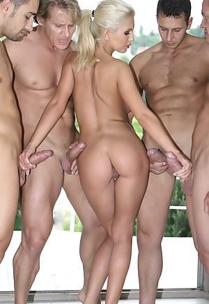 Hot Big Ass Gangbang Porn Pictures